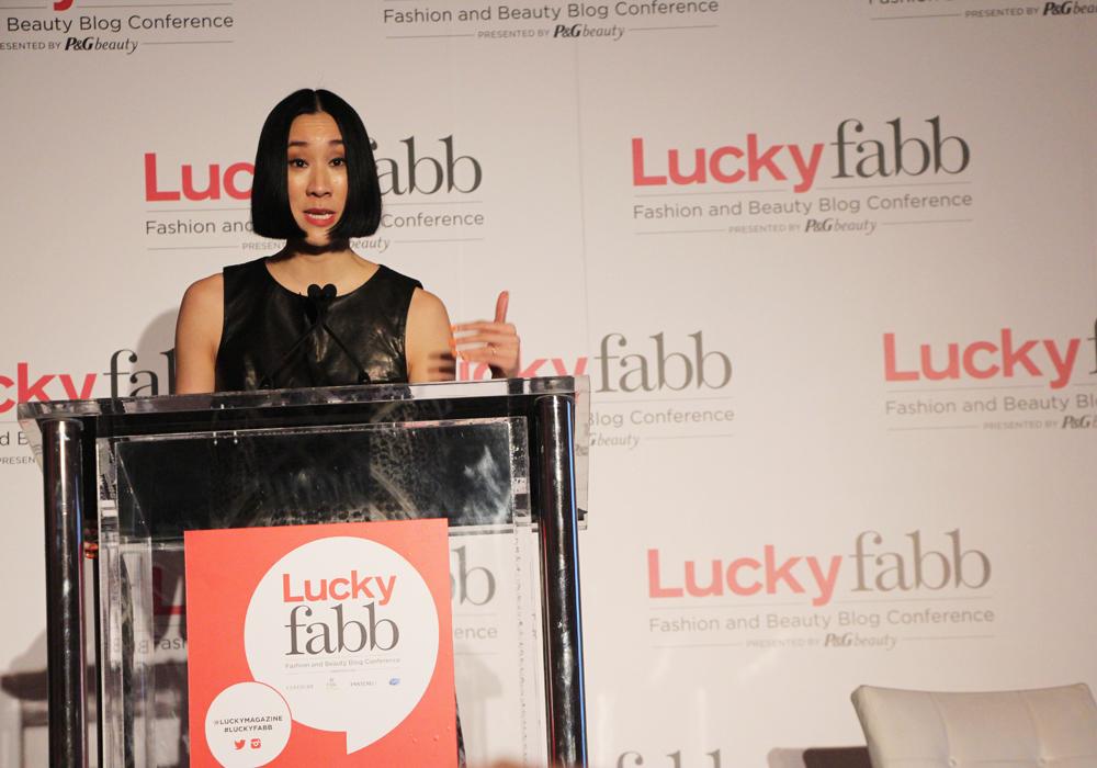 LuckyFABB Lucky Magazine Fashion Beauty Blogger Conference