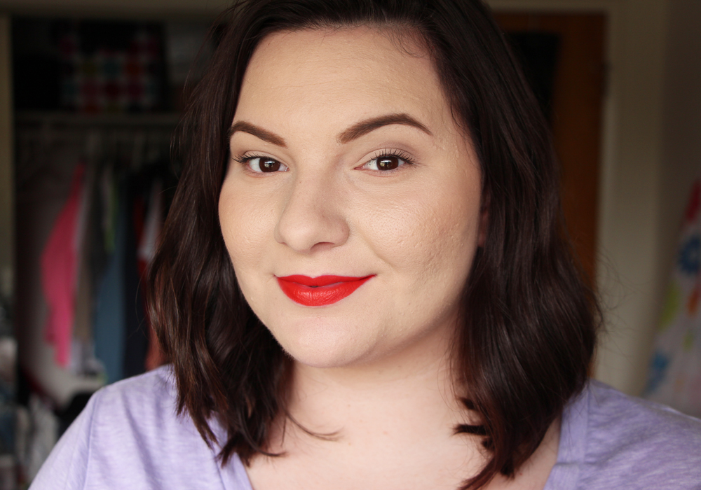 MAC Lady Danger Lipstick Review Swatch