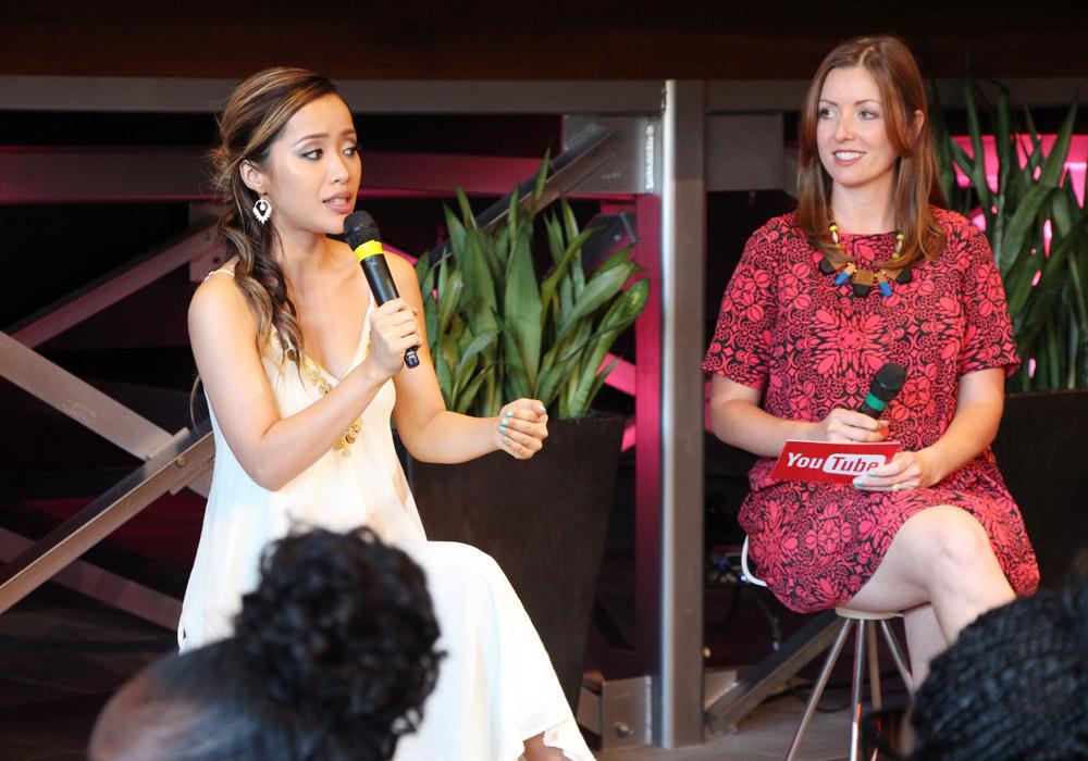 IPSY Generation Beauty 2014 Recap Michelle Phan YouTube Space LA