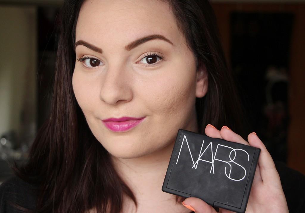 NARS Contour Blush Paloma Review Demo 4