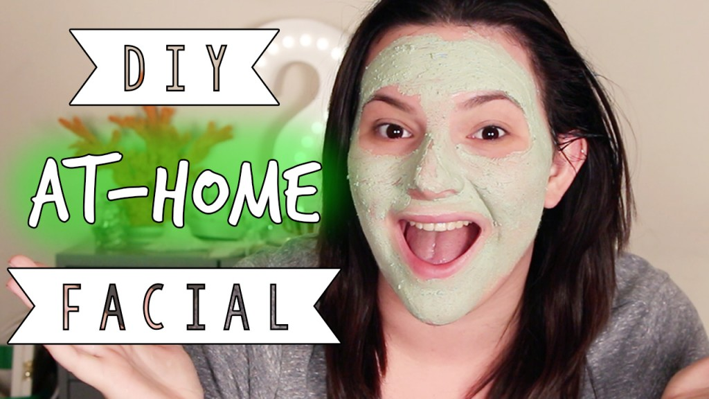 DIY At Home Spa Facial Skincare Pampering Routine OliviaMakeupChannel