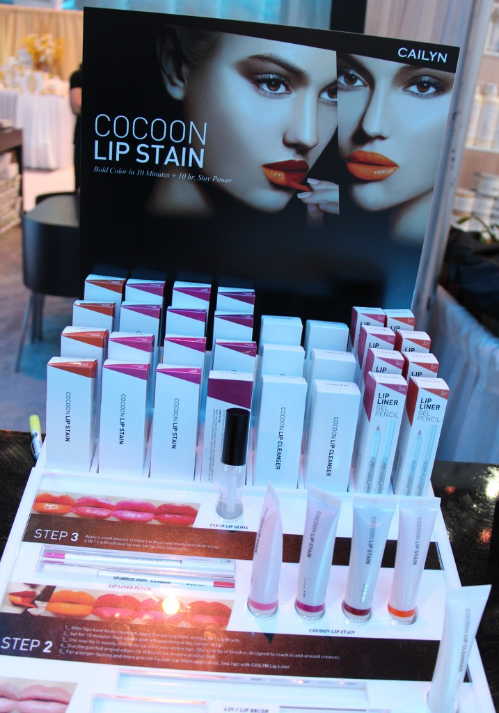ISSE Long Beach 2015 Cailyn Cosmetics Cocoon Lip Stain Collection