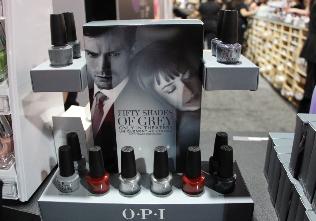 OPI's Fifty Shades of Grey line