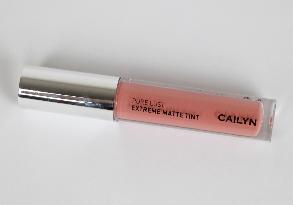Cailyn Cosmetics Pure Lust Extreme Matte Tint Liquid Lipstick Exhibitionist Review