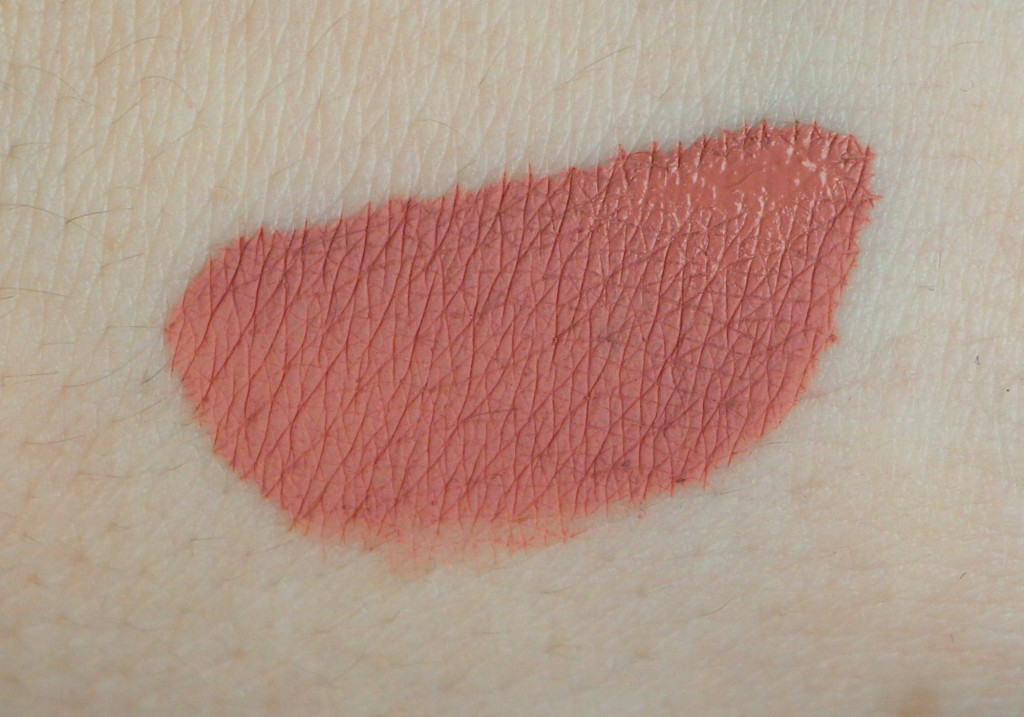 Cailyn Cosmetics Pure Lust Extreme Matte Tint Liquid Lipstick Exhibitionist Review Swatch