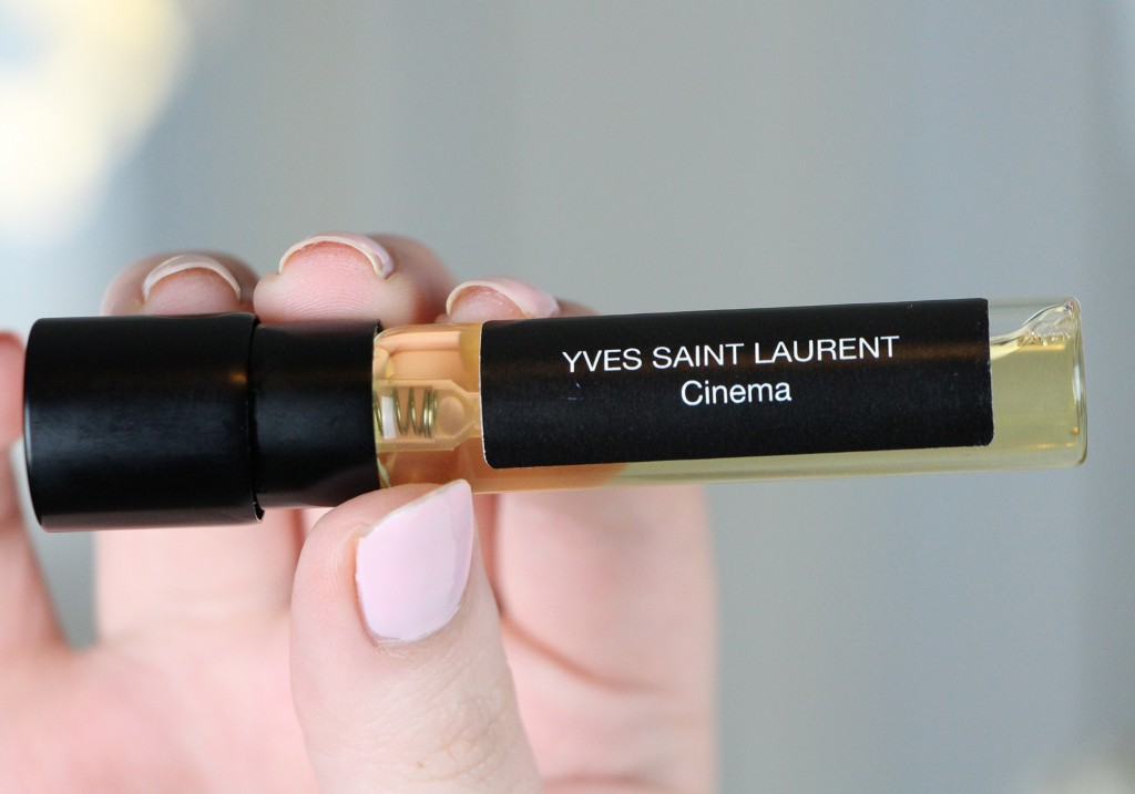 ScentBird Monthly Fragrance Subscription Service Review Yves Saint Laurent Cinema Perfume