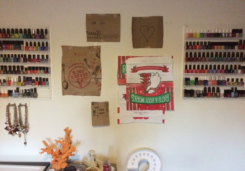 DIY Home Decor Gallery Wall Tutorial Paper Bags