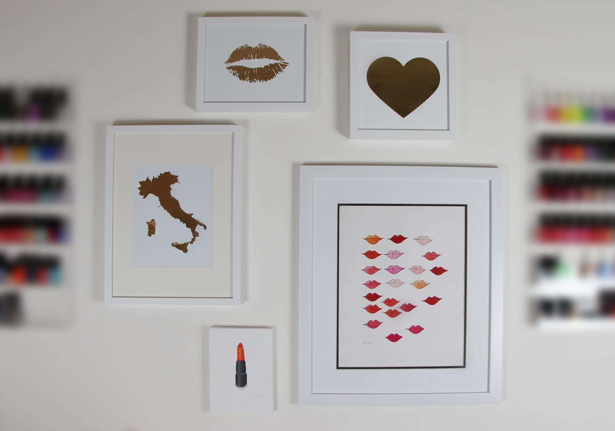DIY Home Decor Gallery Wall