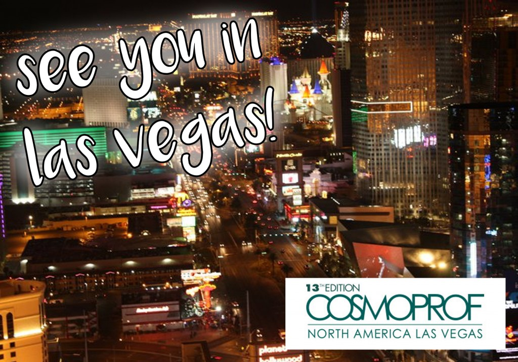 Cosmoprof North America Las Vegas 2015 Beauty Blogger