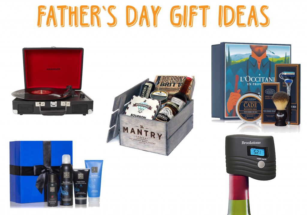 Father's Day Gift Ideas Crosley Turntable Mantry Subscription Brookstone Wine Preserver L'OCCITANE Shaving Kit Rituals Samurai Gift Set