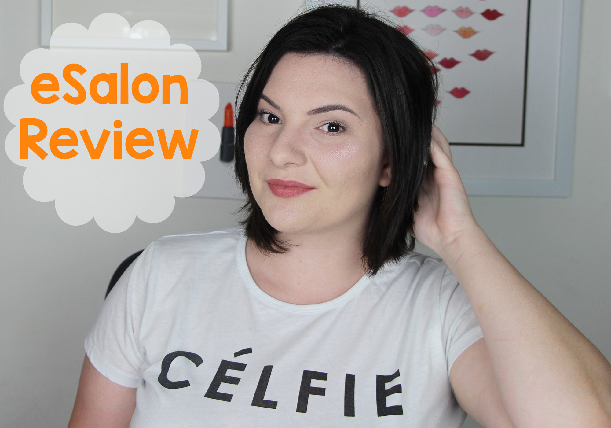 at home hair dye with esalon review u0026 demo video