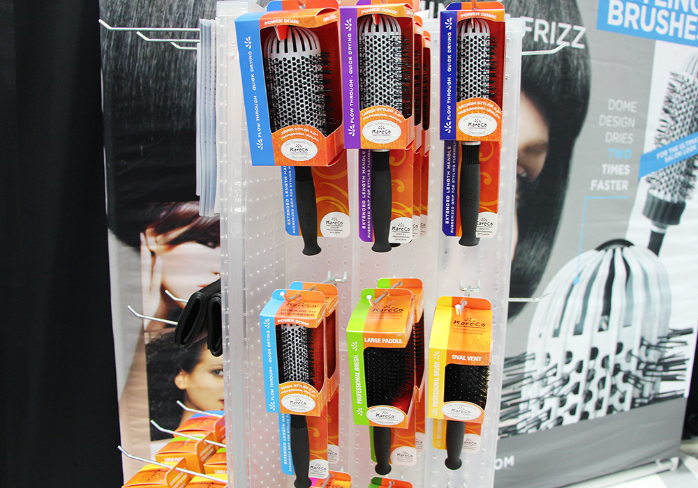 KareCo Hair Brushes at Cosmoprof North America 2015 in Las Vegas