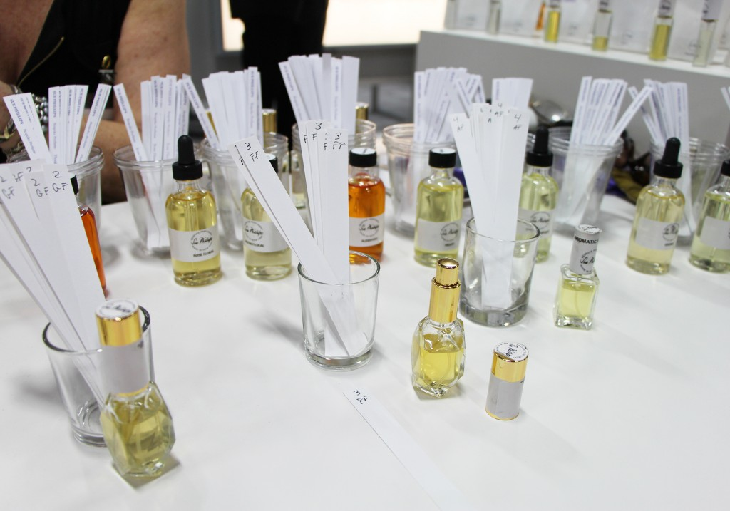 Sue Phillips Scenterprises Making My Own Custom Fragrance at at Cosmoprof North America Las Vegas 2015
