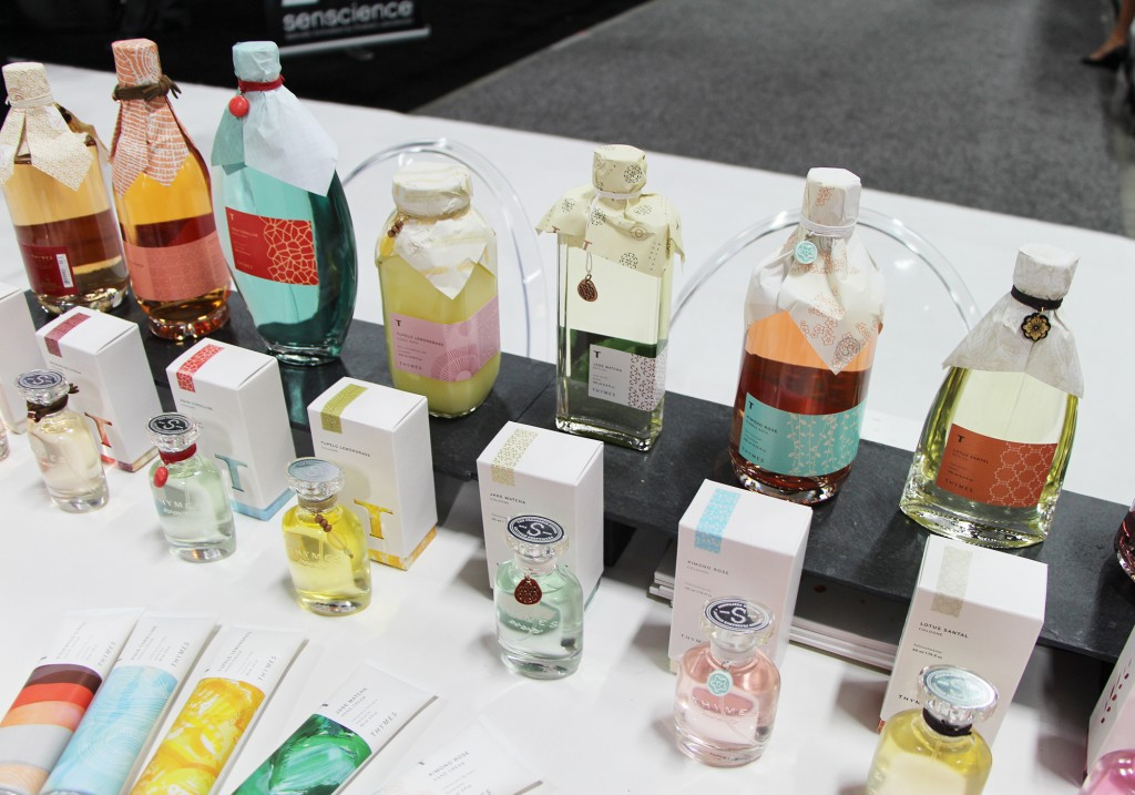 Thymes Fragrance & Bath & Body Products at Cosmoprof North America Las Vegas 2015