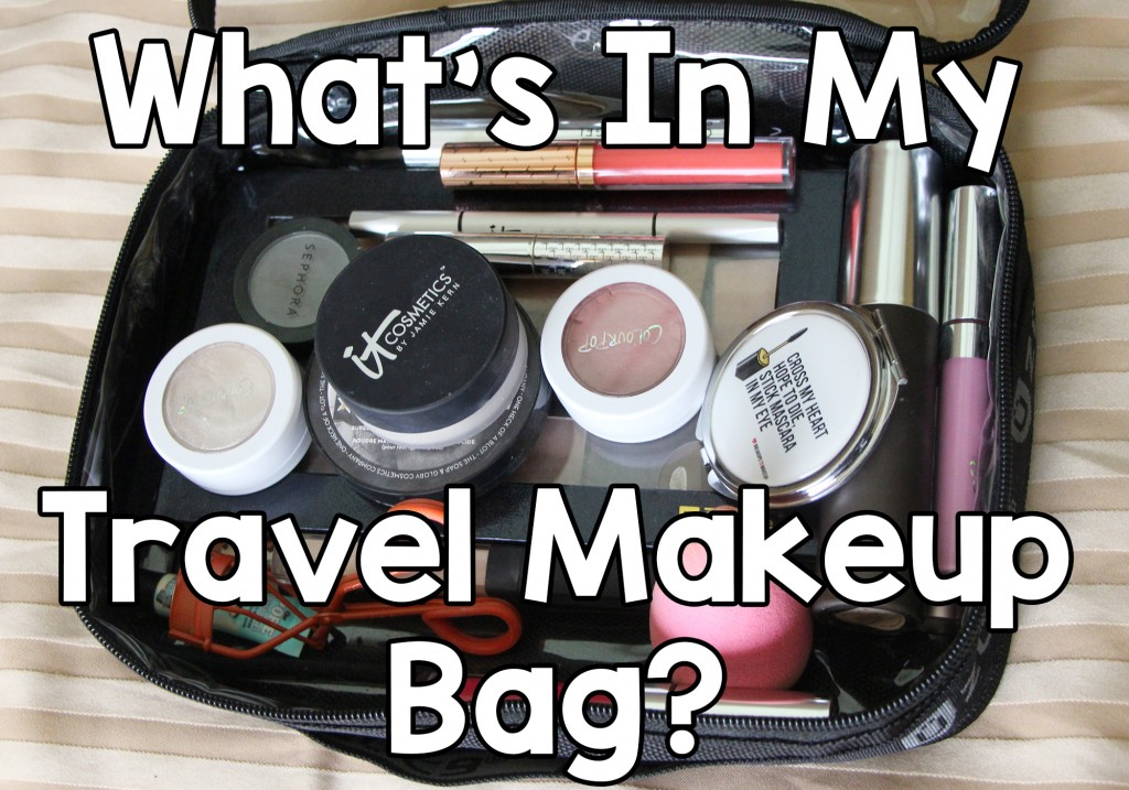 What's In My Travel Makeup Bag? OliviaMakeupChannel