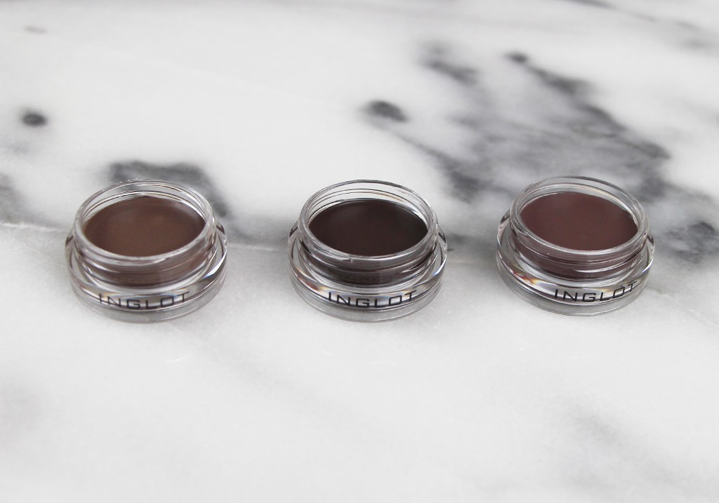 INGLOT AMC Brow Liner Gel Review 19 20 21