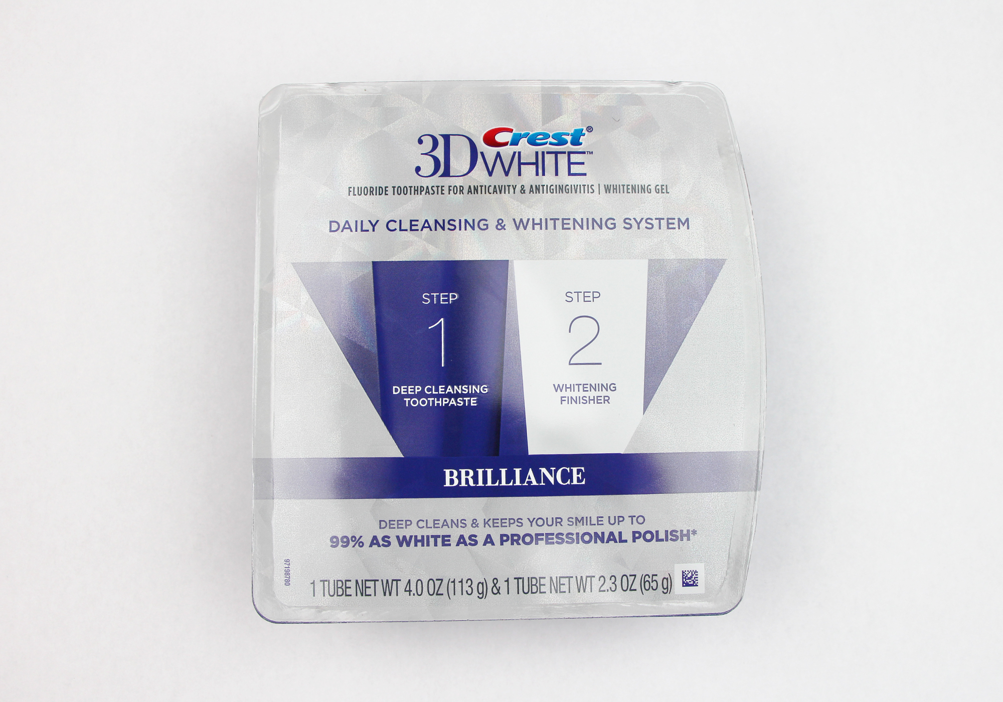 Getpolished With Crest 3d White Brilliance Toothpaste System