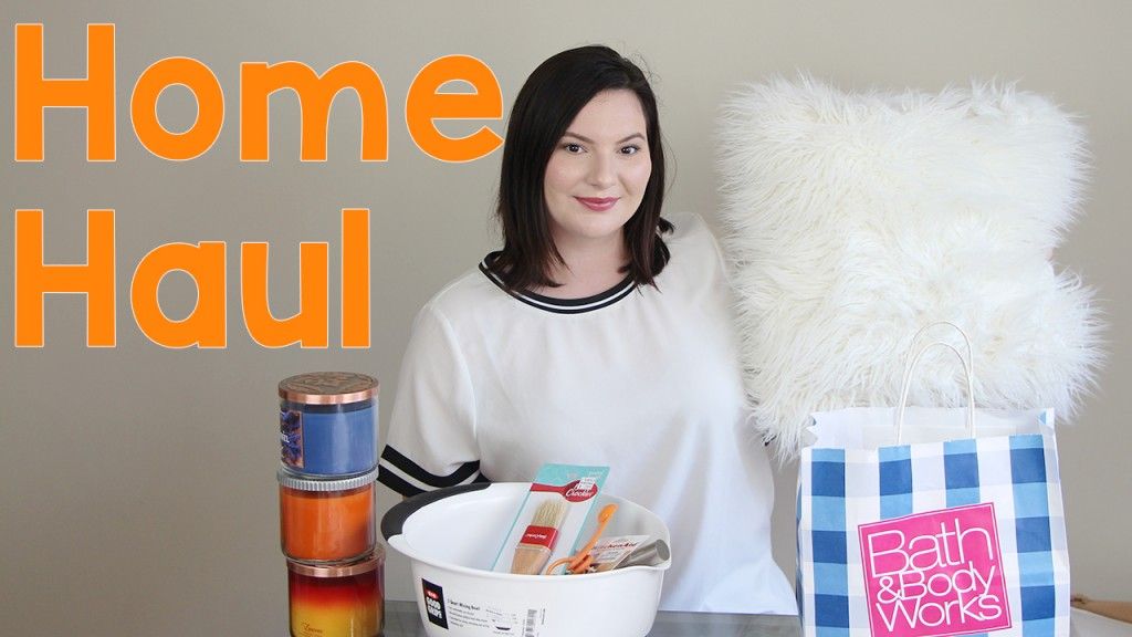 Home Apartment Decor Haul Bath & Body Works Candles Bed Bath and Beyond Marshall's Target