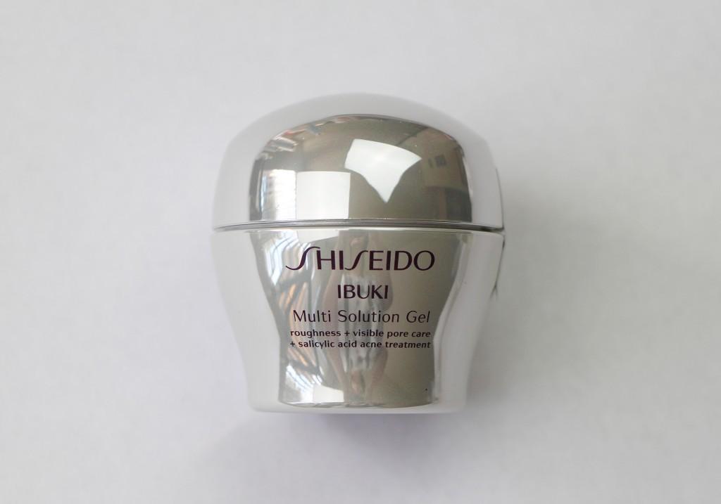 Shiseido IBUKI Multi Solution Gel Review