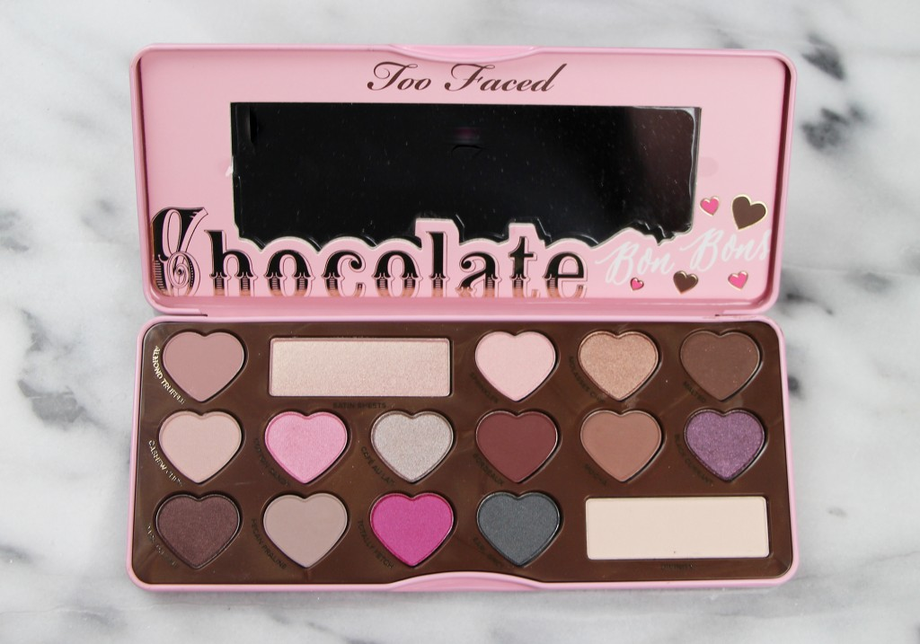 Too Faced Chocolate Bon Bons Eye Shadow Palette Review & Swatches