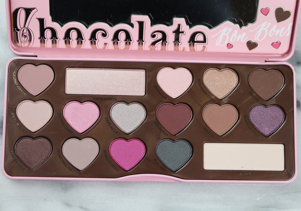 Too Faced Chocolate Bon Bons Eye Shadow Palette Review & Swatches 3