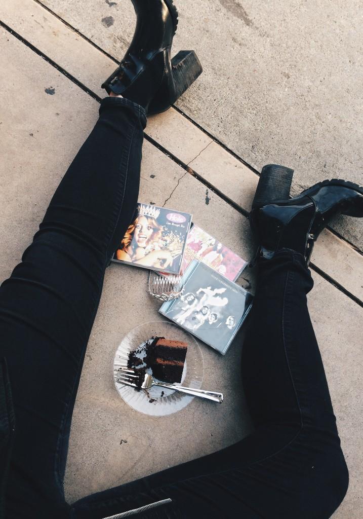 Olivia Frescura Sophia Amoruso Courtney Love Nasty Gal Meet & Greet Hole CDs