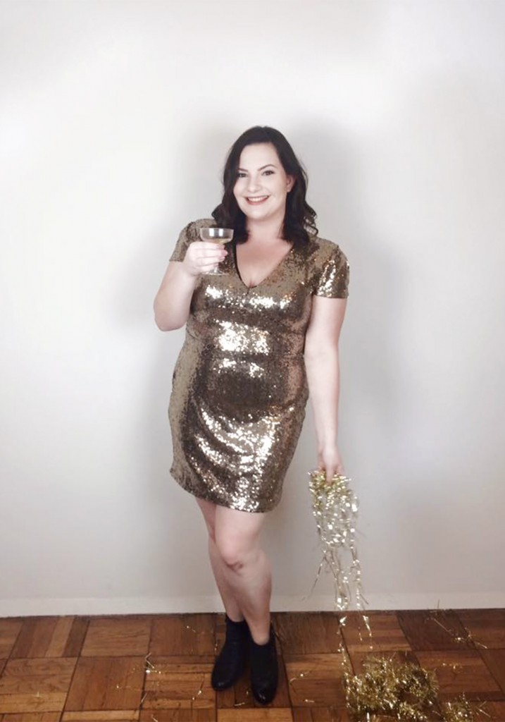 What I Wore New Year's Eve 2016 Club L ASOS Nordstrom BP Kiko Colourpop Sephora INGLOT Too Faced Makeup