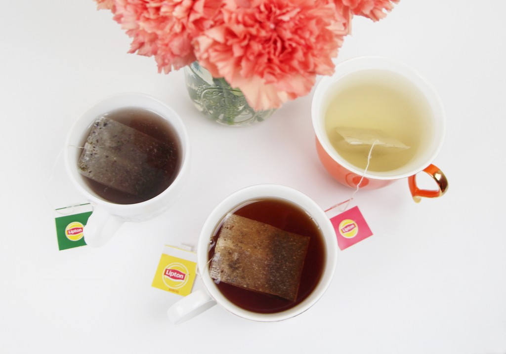 Lipton Tea Greentea Superfruit Purple Acai Blueberry Amazingly Grey Luscious Herbal Tea Lemon Ginger Review 2