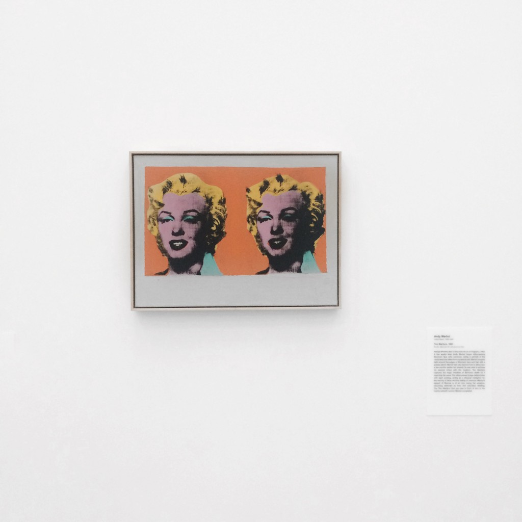 The Broad Museum Downtown Los Angeles Andy Warhol Two Marilyns 1962
