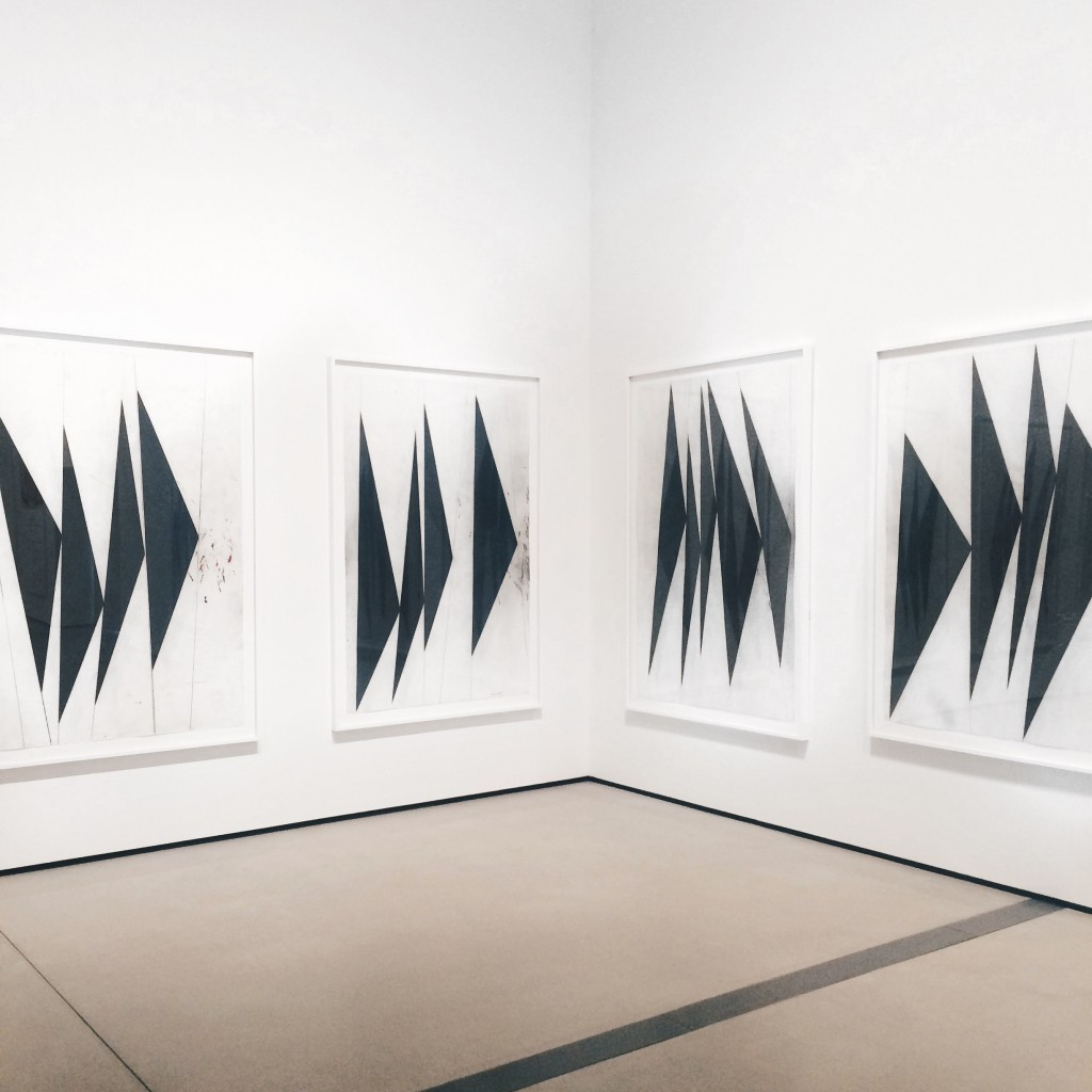 The Broad Museum Downtown Los Angeles Mark Grotjahn Untitled Dancing Black Butterflies 2007