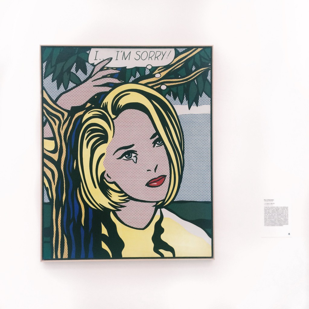 The Broad Museum Downtown Los Angeles Roy Lichtenstein I I'm Sorry 1965-1966