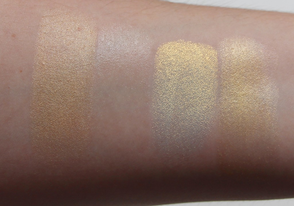 Pat McGrath Skin Fetish 003 Golden Review Swatches