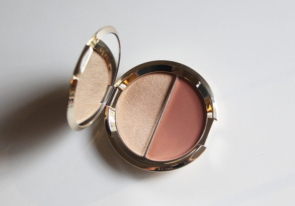 Becca x Jaclyn Hill Champagne Splits Shimmering Skin Perfector Mineral Blush Duo Prosecco Pop Amaretto Review 2