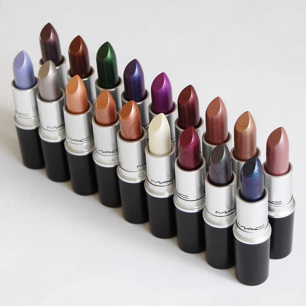 MAC Metallic Lipsticks (Full Collection)