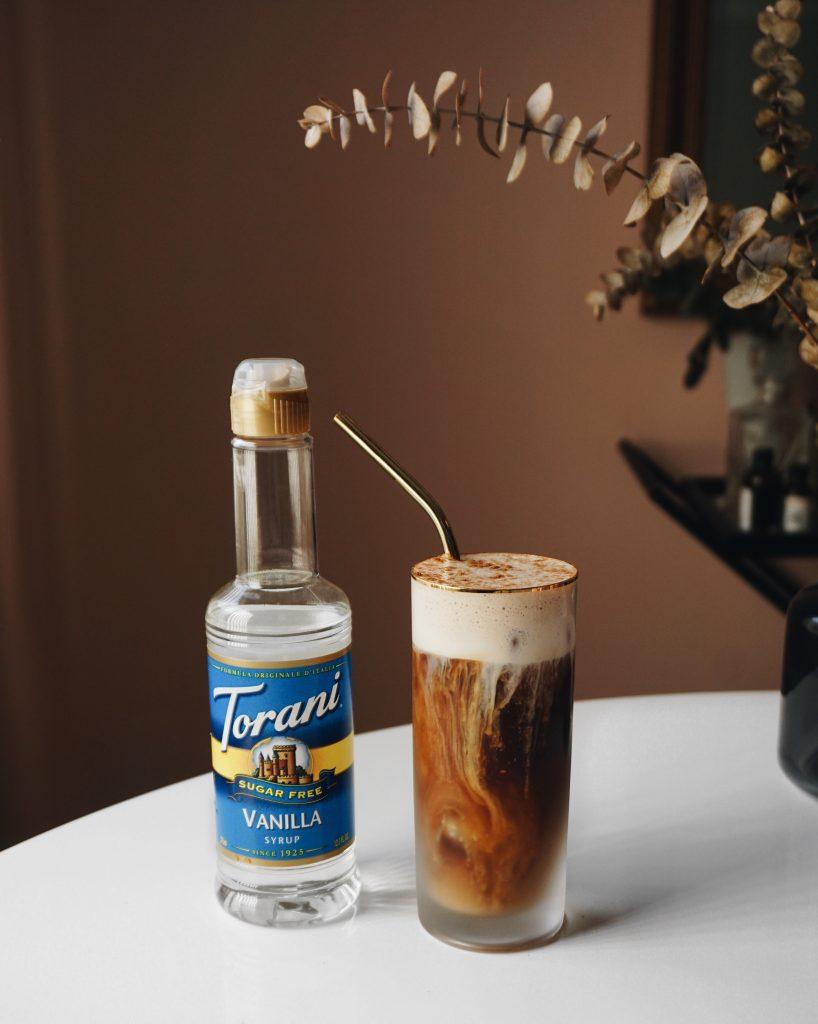 Guilt Free Pumpkin Cream Cold Brew With Torani Sugar Free Syrups